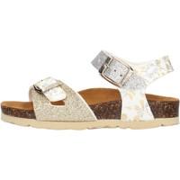 Schuhe Mädchen Sandalen / Sandaletten Gold Star - Sandalo platino 1846L ARGENTO