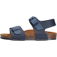 Schuhe Jungen Sandalen / Sandaletten Gold Star - Sandalo da Bambino Blu in Pelle 8805J P