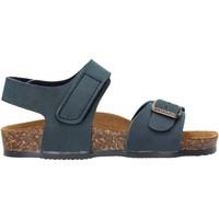 Schuhe Jungen Sandalen / Sandaletten Gold Star - Sandalo da Bambino Blu in Pelle 8804