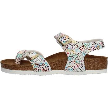 Schuhe Mädchen Sandalen / Sandaletten Birkenstock - Taormina bianco 1009454 BIANCO