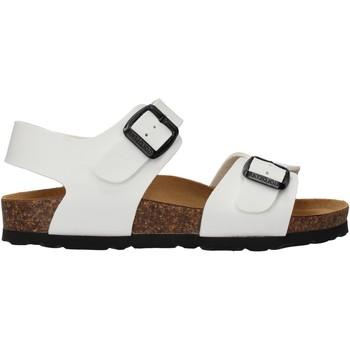 Schuhe Mädchen Sandalen / Sandaletten Gold Star - Sandalo bianco 1805 BIANCO