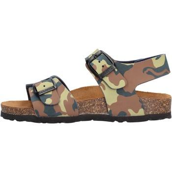 Schuhe Jungen Sandalen / Sandaletten Gold Star - Sandalo da Bambino Blu in Pelle 1805ST