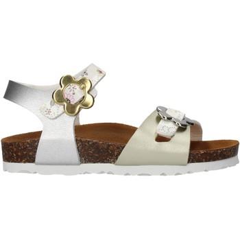 Schuhe Mädchen Sandalen / Sandaletten Gold Star - Sandalo argento 1846VF ARGENTO