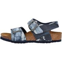 Schuhe Jungen Sandalen / Sandaletten Birkenstock - New york  blu 1004917 BLU