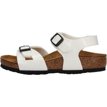 Schuhe Mädchen Sandalen / Sandaletten Birkenstock - Rio bianco 931133