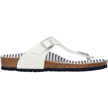 Schuhe Mädchen Zehensandalen Birkenstock - Gizeh bianco 1012724 BIANCO