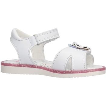 Schuhe Mädchen Sandalen / Sandaletten Pablosky - Sandalo bianco 051500 BIANCO