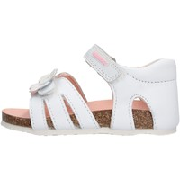Schuhe Mädchen Sandalen / Sandaletten Pablosky - Sandalo bianco 057700 BIANCO