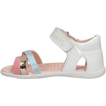 Schuhe Mädchen Sandalen / Sandaletten Pablosky - Sandalo bianco 047009 BIANCO
