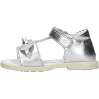 Schuhe Mädchen Sandalen / Sandaletten Falcotto - Sandalo argento PLUSH ARGENTO