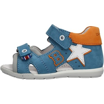 Schuhe Jungen Sportliche Sandalen Balducci - Sandalo celeste/arancione CITA2512 CELESTE