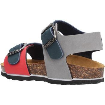 Schuhe Jungen Sandalen / Sandaletten Gold Star - Sandalo blu/rosso 1805B BLU
