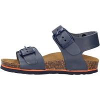 Schuhe Jungen Sandalen / Sandaletten Gold Star Goldstar 1805BV sandali blu in micropelle da bambino BLU
