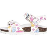 Schuhe Mädchen Sandalen / Sandaletten Gold Star Goldstar 1846E sandali bianchi da bambino BIANCO
