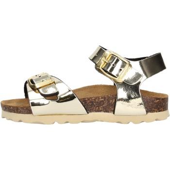 Schuhe Mädchen Sandalen / Sandaletten Gold Star Goldstar 1846TT sandali oro da bambino ORO