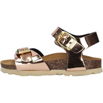 Schuhe Mädchen Sandalen / Sandaletten Gold Star Goldstar 1846TT sandali bronzo da bambino BRONZO
