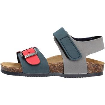Schuhe Jungen Sandalen / Sandaletten Gold Star - Sandalo blu/rosso 8804 BLU