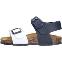 Schuhe Jungen Sandalen / Sandaletten Gold Star Goldstar 8805 sandali bianco in micropelle da bambino BIANCO