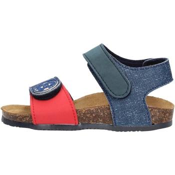 Schuhe Jungen Sandalen / Sandaletten Gold Star Goldstar 8852 sandali blu in micropelle da bambino BLU