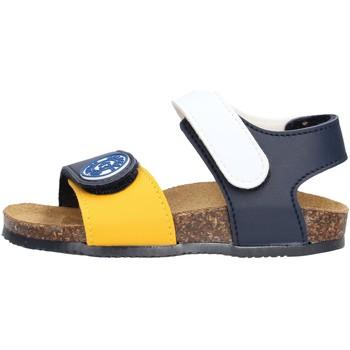 Schuhe Jungen Sandalen / Sandaletten Gold Star Goldstar 8852 sandali multicolor in micropelle da bambino MULTICOLORE