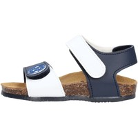 Schuhe Jungen Sandalen / Sandaletten Gold Star Goldstar 8852J sandali blu in micropelle da bambino BLU
