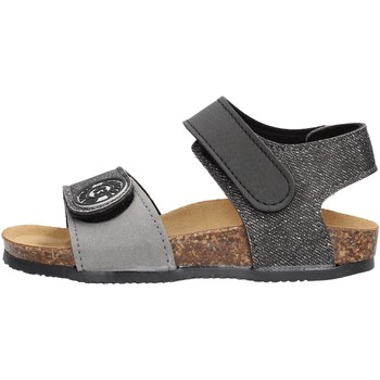 Schuhe Mädchen Sandalen / Sandaletten Gold Star Goldstar 8852J sandali nero in micropelle da bambino NERO