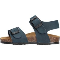 Schuhe Jungen Sandalen / Sandaletten Gold Star Goldstar 8805 sandali blu in micropelle da bambino BLU