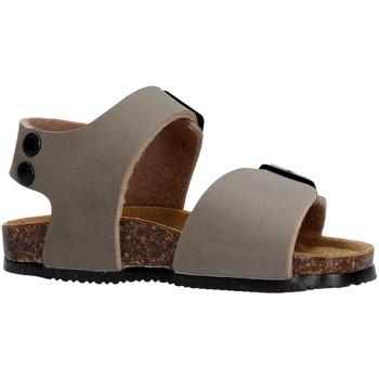 Schuhe Jungen Sandalen / Sandaletten Gold Star Goldstar 8805 sandali grigi in micropelle da bambino GRIGIO