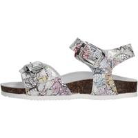 Schuhe Mädchen Sandalen / Sandaletten Gold Star Goldstar 8852Y sandali grigi in micropelle da bambino GRIGIO