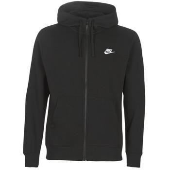 Kleidung Herren Sweatshirts Nike M NSW CLUB HOODIE FZ BB Schwarz