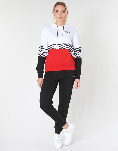 Kleidung Damen Jogginghosen Nike W NSW ESSNTL PANT REG FLC Schwarz
