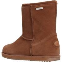 Schuhe Jungen Schneestiefel EMU - Stivale marrone camoscio K10773 MARRONE