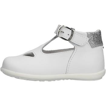 Schuhe Mädchen Sandalen / Sandaletten Balducci - Occhio di bue bianco CITA2401 BIANCO