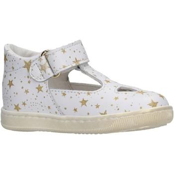 Schuhe Mädchen Sandalen / Sandaletten Falcotto - Occhio di bue bianco/plt KOS BIANCO
