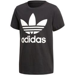 Kleidung Jungen T-Shirts adidas Originals - T-shirt nero CF8545