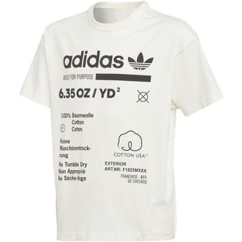 Kleidung Jungen T-Shirts adidas Originals - T-shirt bianco DH3073
