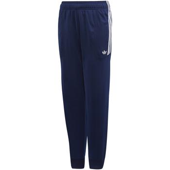 Kleidung Jungen Jogginghosen adidas Originals - Pantalone blu/bco DW3864