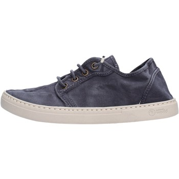 Schuhe Damen Sneaker Low Natural World - Sneaker blu 6302E-677 BLU