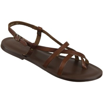 Schuhe Damen Sandalen / Sandaletten The Sandals Factory Sandaletten W6101 brown 530 W6101 braun