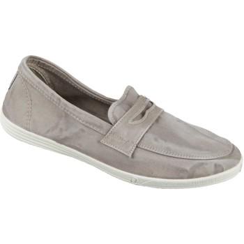 Schuhe Herren Slipper Natural World Eco Slipper 316E-670 gris claro Baumwolle 316E-670 grau