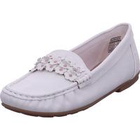 Schuhe Damen Slipper Idana Slipper, Moccasins WHITE 105