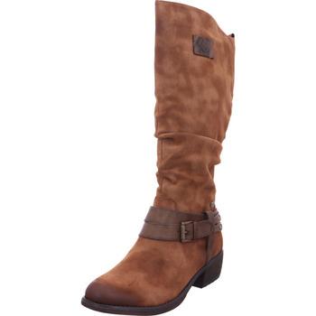 Schuhe Damen Klassische Stiefel Rieker - 93158-24 reh/nubia 24