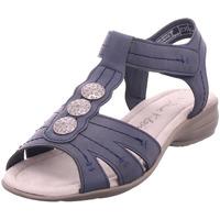 Schuhe Damen Sandalen / Sandaletten Jane Klain Sandalen glatter Boden bis 50 BLUE 805