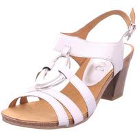 Schuhe Damen Sandalen / Sandaletten Caprice Woms Sandals SILVER/WHITE 919