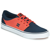 Schuhe Herren Sneaker Low DC Shoes TRASE TX Blau / Orange