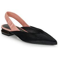 Schuhe Damen Ballerinas Heimstone SWEDES Schwarz / Rose