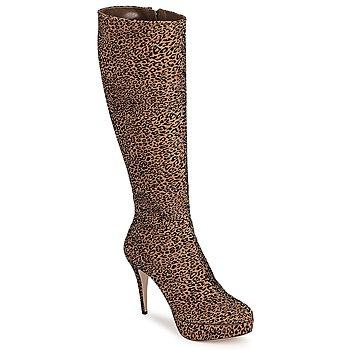 Schuhe Damen Klassische Stiefel Sebastian FLOC-LEO Leopard