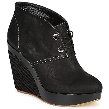 Schuhe Damen Ankle Boots Gaspard Yurkievich C4-VAR8 Schwarz