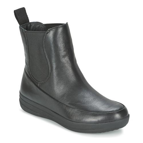 FitFlop FF-LUX CHELSEA BOOT Schwarz  Schuhe Boots Damen 175,20