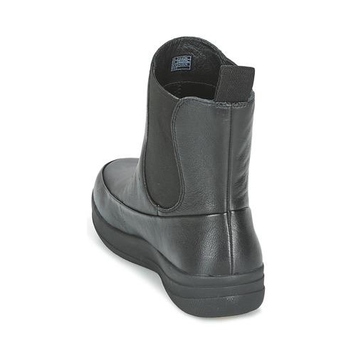 FitFlop FF-LUX Schuhe CHELSEA BOOT Schwarz  Schuhe FF-LUX Boots Damen 175,20 0913b8